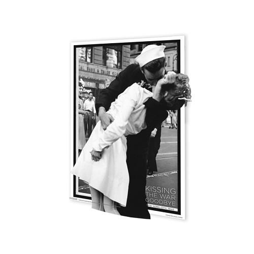 Den vítězství na Times Square / Kissing The War Goodbye - 3D Plakát