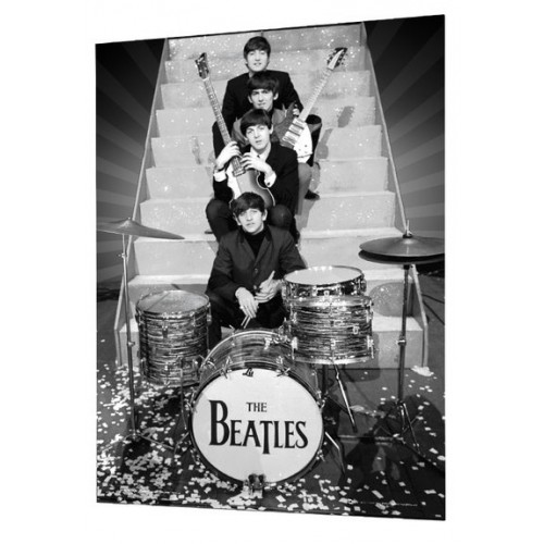 The Beatles On Stage - 3D plakát