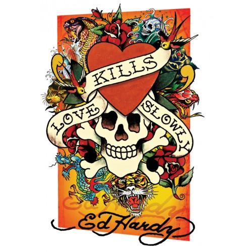 Ed Hardy (Love Kills Slowly Montage) - 3D Plakát