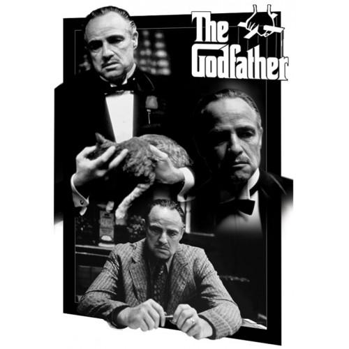 Kmotr / The Godfather - 3D Plakát