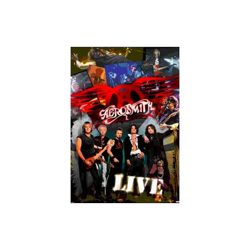 Aerosmith (Live) - 3D plakát