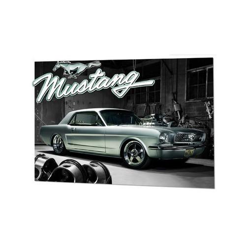 MUSTANG 1966 - 3D Plakát