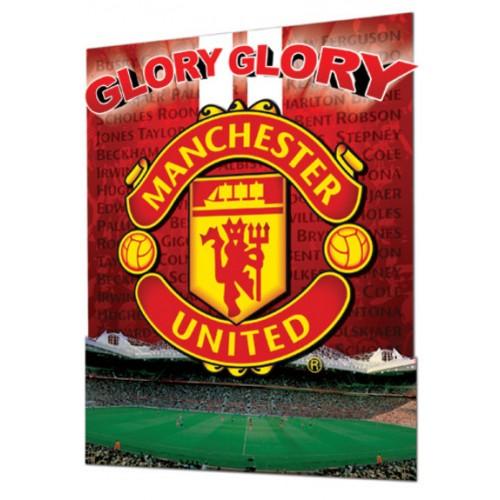 Manchester United - 3D plakát
