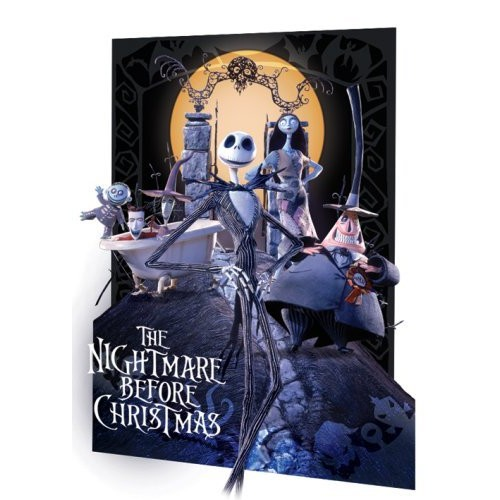 Ukradené Vánoce / The Nightmare Before Christmas - 3D Plakát