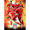 Liverpool (hráči) - 3D Plakát