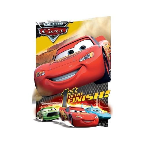Auta (První v cíli!) / Cars (First To Finish!) - 3D plakát