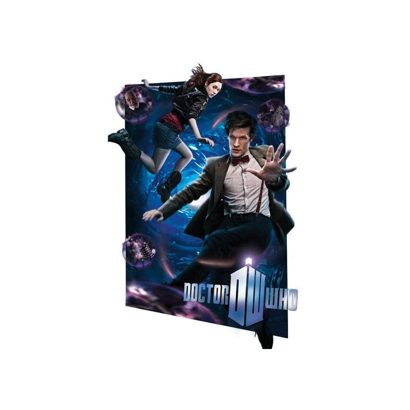 Pán času / Doctor Who (Vortex) - 3D plakát