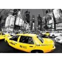 Dopravní špička / Rush Hour Times Square - 3D Plakát