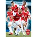Arsenal (hráči) 2010/2011 - 3D plakát